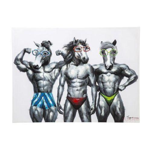 Kare Design Touched Muscle Horse Obraz 120x90cm - 36691 (obraz)