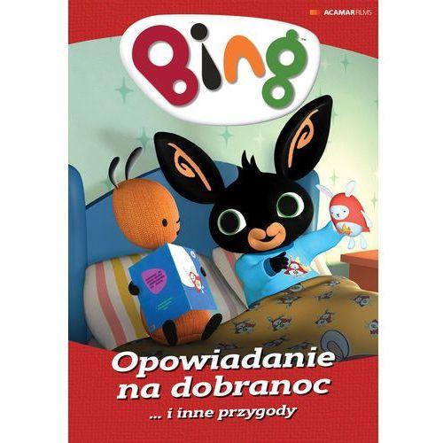 Bing, część 4: opowiadanie na dobranoc i inne przygody (płyta dvd) marki Nicky phelan, jeroen jaspart
