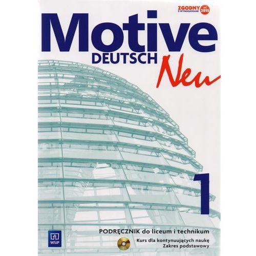 Język niemiecki Motive Deutsch Neu 1 podręcznik LO / Zakres podstawowy / CYKL WIELOLETNI (136 str.)