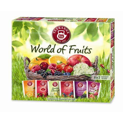 TEEKANNE 67,5g World of fruits Collection Box Kolekcja herbatek owocowych (6x5 torebek) | DARMOWA DOSTAWA OD 200 ZŁ, SPP.901