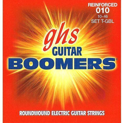 Ghs reinforced guitar boomers struny do gitary elektrycznej, light,.010-.046