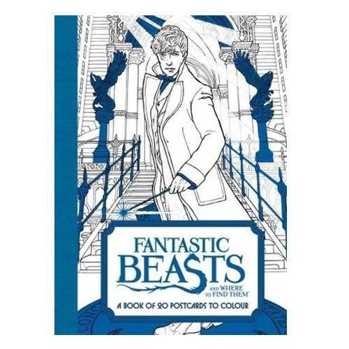 Fantastic Beasts and Where to Find Them: A Book of 20 Postca (9780008204648)