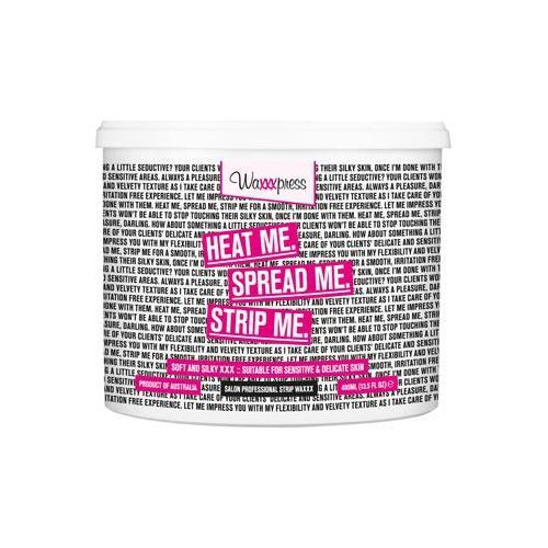 Waxxxpress - Heat Me Spread Me Strip Me Strip Wax - Wosk do depilacji - 400 ml - oferta [050fd5a03ff305c7]