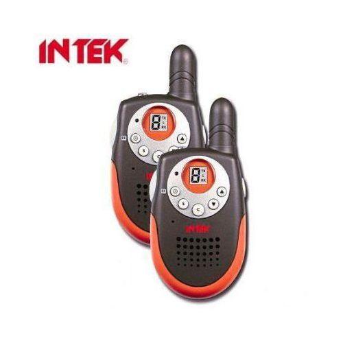 Zestaw 2szt. Radiotelefonów/Krótkofalówek INTEK o Zasięgu do ok. 3km. + Akcesoria Dodatkowe., 59077734154423