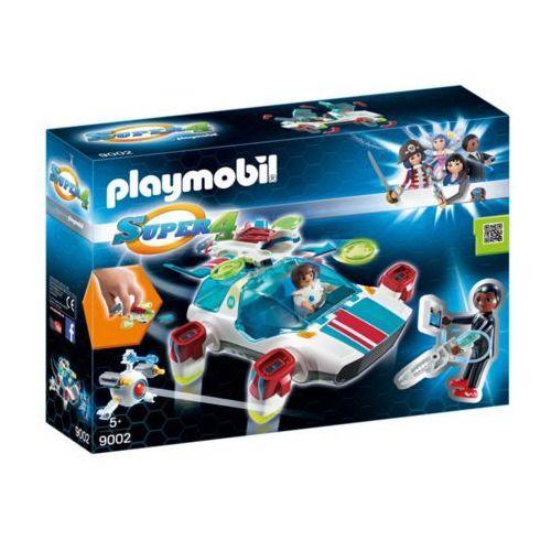 Playmobil SUPER 4 Fulgurix i agent gene 9002 - BEZPŁATNY ODBIÓR: WROCŁAW!