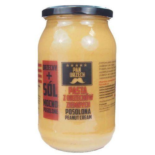Pan zdrówko pasta z orzechów ziemnych z solą - 900g marki Pan orzech