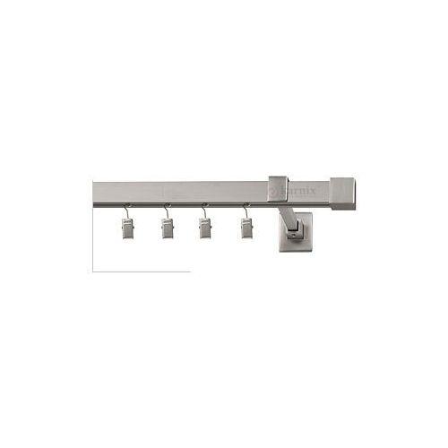 Karnisze aluminiowe ELITE / Karnisze aluminium ELITE NAPOLI pojedyncze chrom mat - oferta [c5024c7bb7f53235]