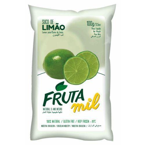 Limonka puree owocowe (miąższ, pulpa, sok z miąższem) bez cukru