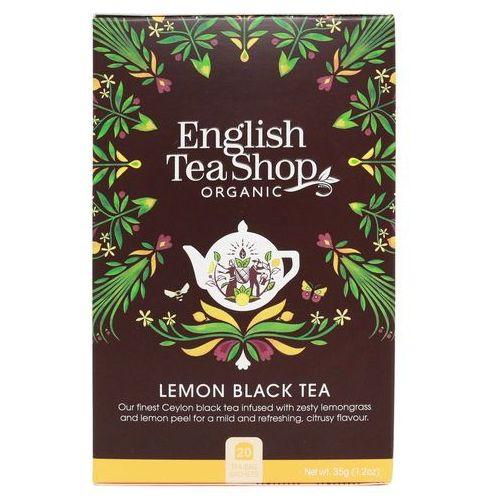 Herbata czarna z trawą cytrynową (20x1,75) bio 35 g marki English tea sho