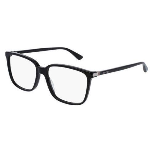 Okulary korekcyjne gg0019o 001 marki Gucci
