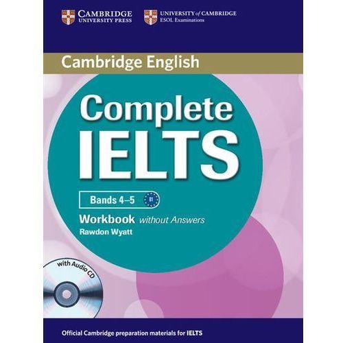 Complete IELTS Bands 4-5 Zeszyt Ćwiczeń Bez Odpowiedzi Plus Audio CD (76 str.)
