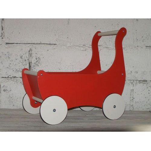 Ekologiczny drewniany wózek pchacz chodzik, produkt marki Oloka-Gruppe