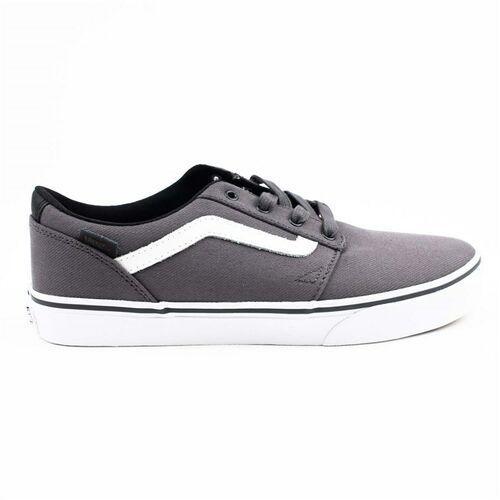 Vans Buty - yt chapman stripe (c&l) asphalt/white (okx)