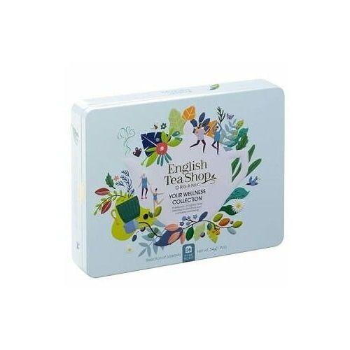 Zestaw herbatek your wellness collection w ozdobnej puszce bio 54 g p marki English tea sho