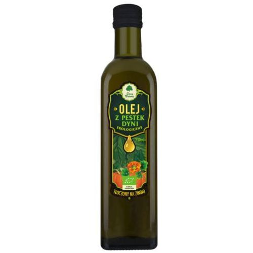 Olej z Pestek Dyni Virgin BIO 250 ml Dary Natury (5902581616203)