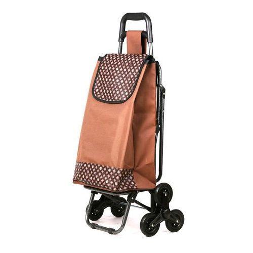 Wózek na zakupy z potrójnymi kołami z siedzeniem 3K-S04 (wózek na zakupy)