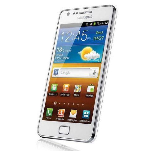 Telefon Samsung Galaxy S II GT-i9100, wyświetlacz 800 x 480pix