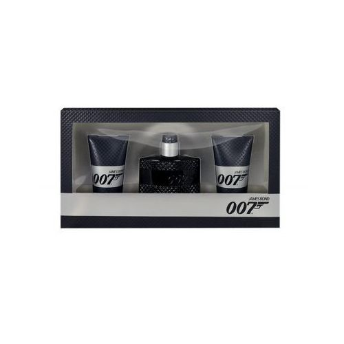 James Bond 007 James Bond 007 zestaw Edt 50ml + 2x50ml Żel pod prysznic dla mężczyzn