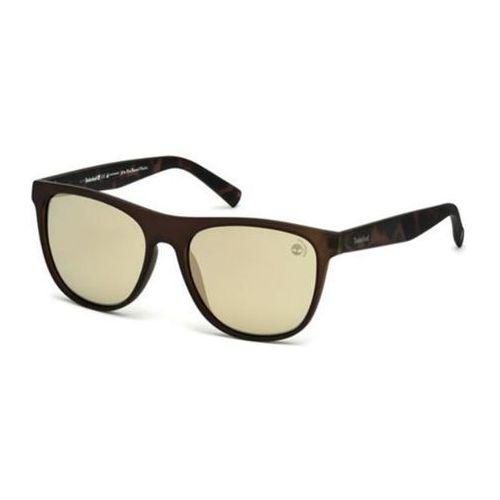 Okulary Słoneczne Timberland TB9124 Polarized 97R, kolor żółty