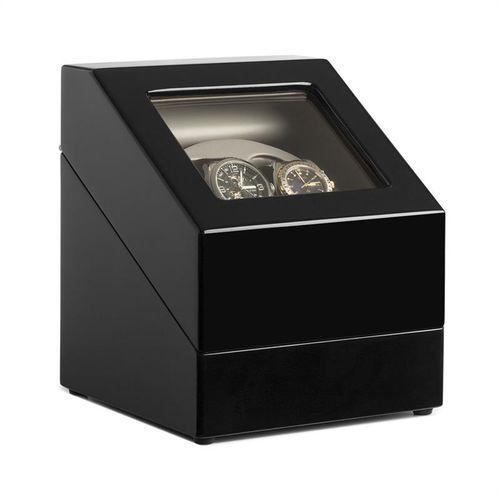 Klarstein Kasetka na zegarki z ruchomą witryną na 2 zegarki
