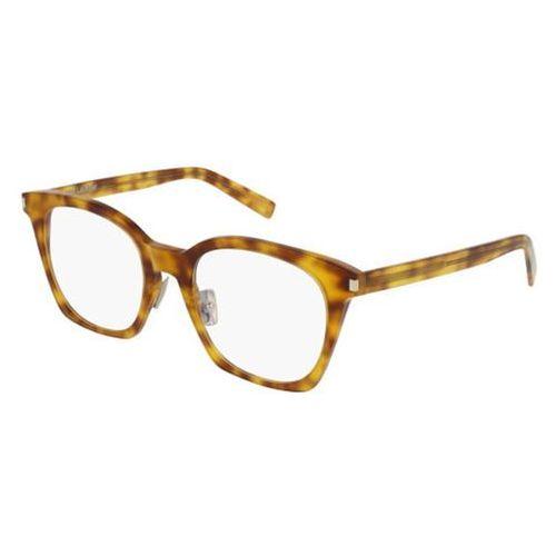 Okulary korekcyjne sl 178 slim 003 marki Saint laurent