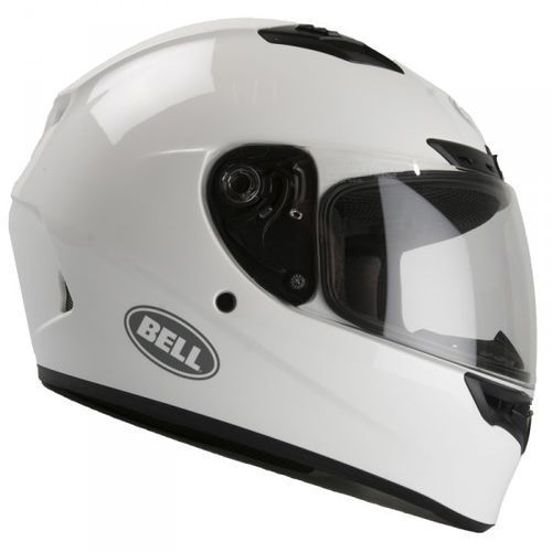 BELL QUALIFIER DLX SOLID GLOSS WHITE KASK INTEGRALNY