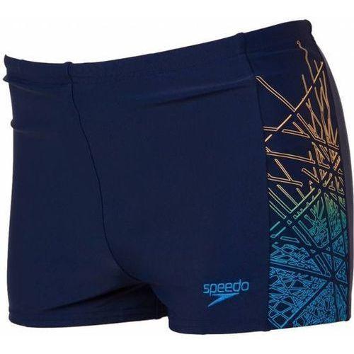 Kąpielówki Speedo Logo PNL Asht Jm niebieskie (5053744251790)