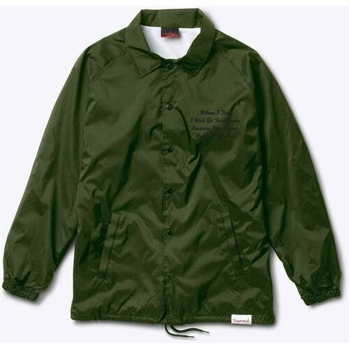 Diamond Kurtka - pacific tour coach military green *do not use* (mgrn) rozmiar: m