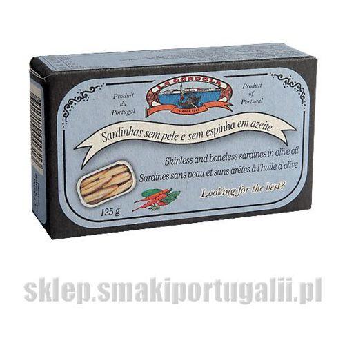 La gondola Sardynki portugalskiebez skóry i ości w oliwie 125g