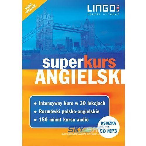 Angielski. Superkurs (kurs + rozmówki + audiokurs) Nowe wydanie, oprawa miękka