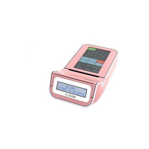 k10 3k różowy/biały marki Elzab