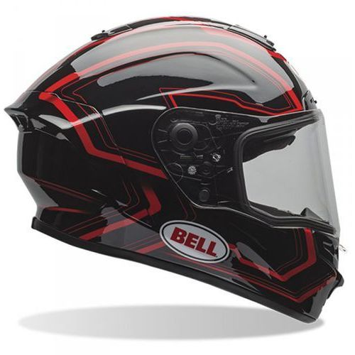 BELL STAR PACE BLACK/RED KASK INTEGRALNY