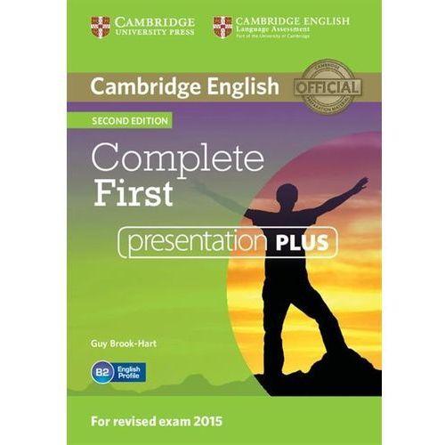 Cambridge university press Complete first presentation plus dvd (9781107666665)