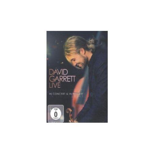 Sony music entertainment David garrett live - in concert & in private, 1 dvd