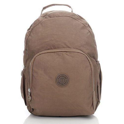 48586804adae9 Lekki sportowy plecak damski   męski brązowy - brązowy marki Bag street  64