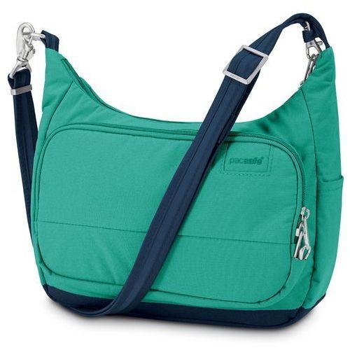 Pacsafe Citysafe LS100 Torba na ramię Kobiety niebieski/turkusow Torby Messenger (torba na laptopa)
