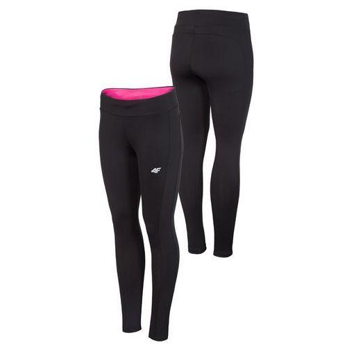 Damskie spodnie legginsy h4z18 spdf002 czarny xl marki 4f