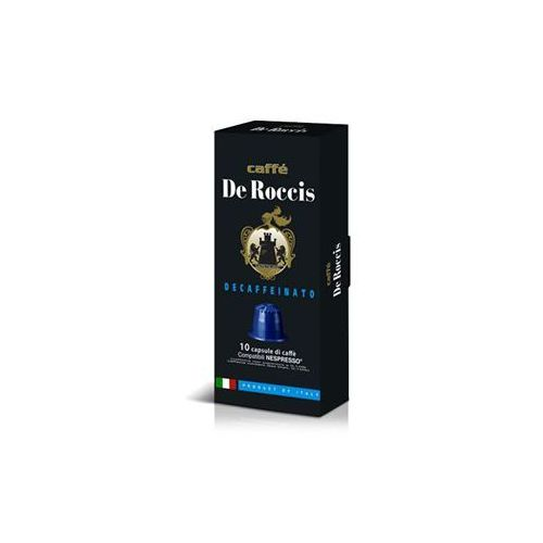 Nespresso kapsułki Decaffeinato de roccis (kawa bezkofeinowa) kapsułki do nespresso – 10 kapsułek (8016115000264)