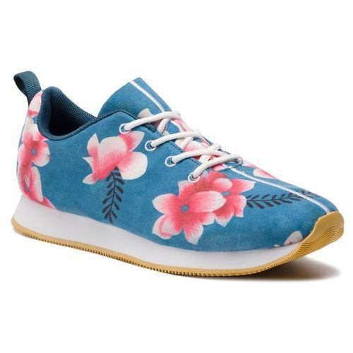 Sneakersy DESIGUAL - Classic Felt Hindi Dancer 19SUKF02 4133, kolor niebieski