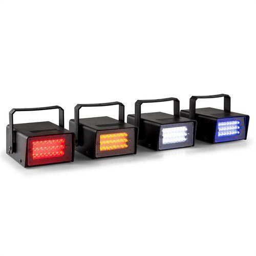 mini zestaw stroboskopowy led rgbw 4 sztuki marki Beamz