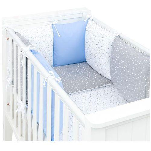 8-el pościel do łóżeczka z ochraniaczem modułowym - zestaw 72 marki Mamo-tato