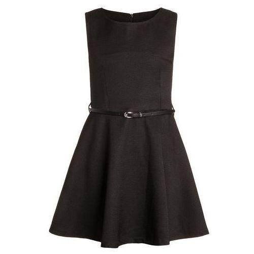 happy girls Sukienka letnia schwarz (sukienka dziecięca)