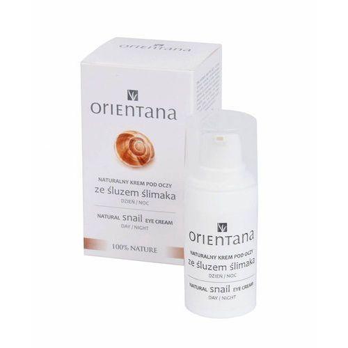 Naturalny krem pod oczy ze śluzem ślimaka marki Orientana