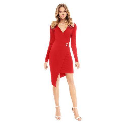 Sukienka Fern w kolorze czerwonym, w 4 rozmiarach