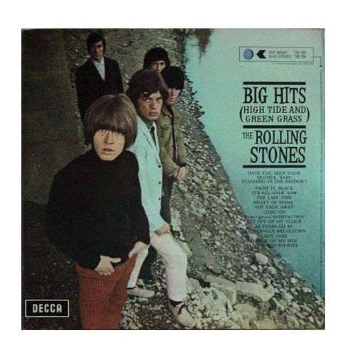 Universal music / decca Big hits (high tide and green grass) - the rolling stones (płyta winylowa) (0042288232216)