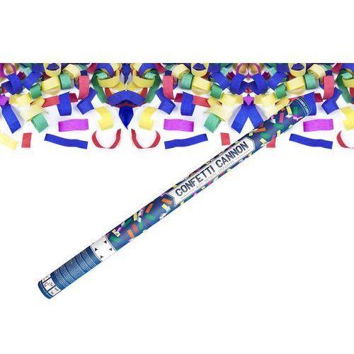 Party deco Tuba strzelająca - konfetti i serpentyny metaliczne - 80 cm - 1 szt.