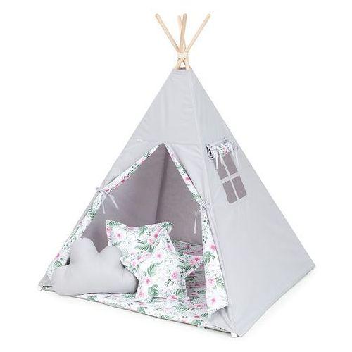 Mamo-tato namiot tipi duży popiel / różany ogród