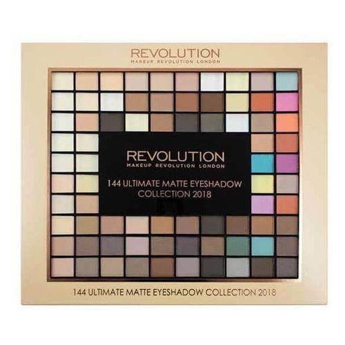 Makeup Revolution 144 paleta matowe cienie do powiek (Ostateczny Matte Eye Shadow Collection 2018) 116 g (5060495309571)