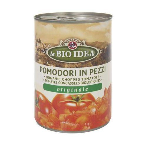 Pomidory krojone bez skóry BIO 6x400g- BIO IDEA (8712153027170)