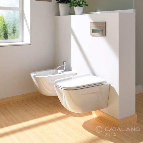 Catalano muszla wisząca New Light Newflush 1VSLIR00 (miska i kompakt WC)